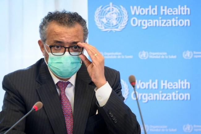 SWITZERLAND-WHO-HEALTH-VIRUS-PANDEMIC
