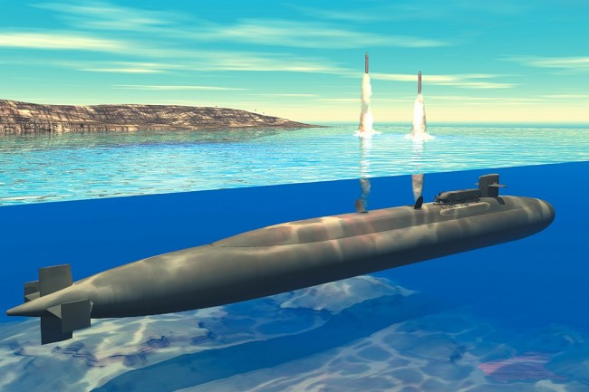 Ohio Class Ballistic Missile Submarine can Launch Nuclear Armageddon Against China, Russia, and Iran which they all Fear