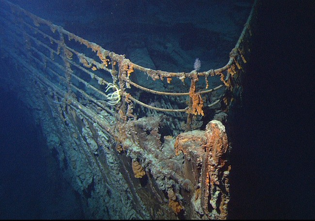 New Images Includes Glass Windows from the Latest Dive to Titanic Wreck More than 12,000-Feet