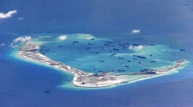 China Built Military Base on Disputed Subi Reef as Part of its Great Wall in the South China Sea