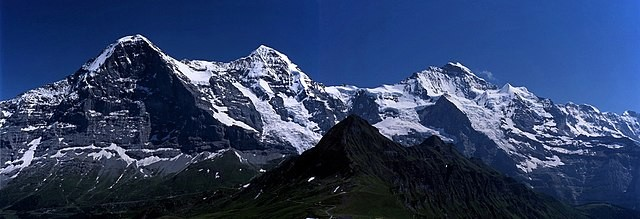 Climate Change Causes Glacial Melting in the Swiss Alps in the Past Decade Creating Major Changes