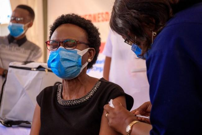 UGANDA-HEALTH-VIRUS-VACCINE