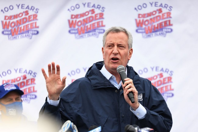 NYC Mayor Bill de Blasio Faces Criticism Over Attempt to Move Homeless to Group Shelters Amid Spike in Covid-19 Cases