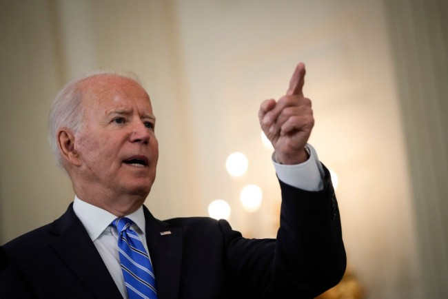"""Joe Biden Says He Doesn't Care If Critics Call Him """"Reincarnated Satan"""" For Pushing Congress to Investigate the Capitol Riot"""