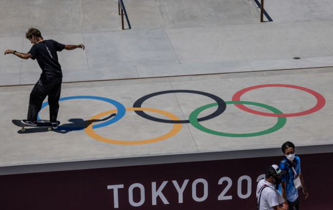 Final Preparations Are Made Ahead Of The Tokyo Olympics