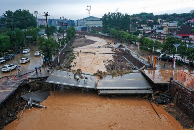 Watch: Deadly Floods in China, Germany Upended Lives; Stark Reminders of Climate Vulnerability