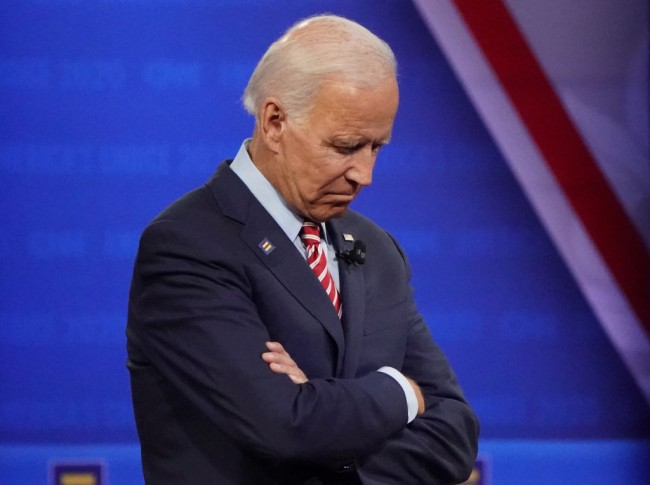 Joe Biden Loses on Track in Another Blunder  While Speaking to Half-Empty CNN Town Hall