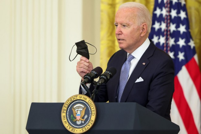 Joe Biden Sets New COVID-19 Vaccine Guidelines Including $100 State and Local Incentives, Federal Workers' Mandates