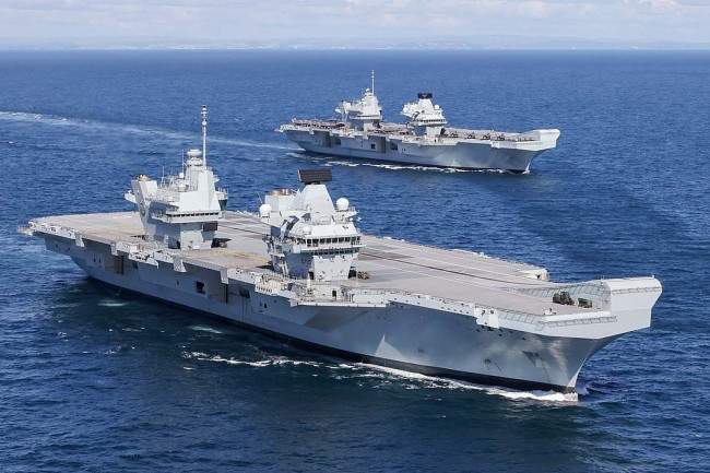 Beijing Says the UK Needs a Beating Down after the Carrier Queen Elizabeth Entered the South China Sea