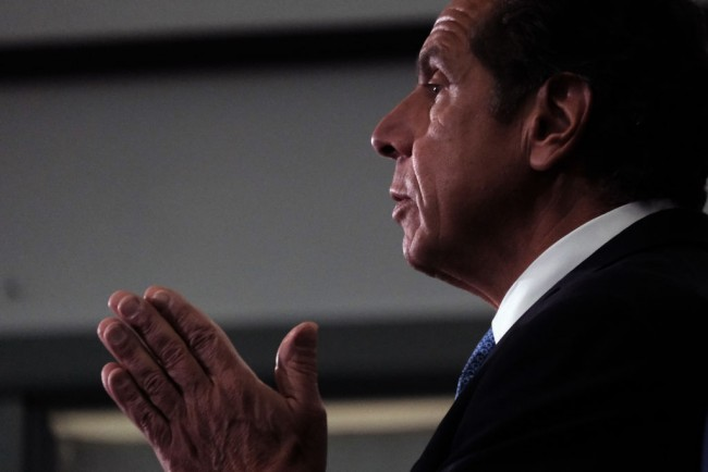 New York Governor Cuomo Meets With NYC Democratic Mayoral Primary Winner Eric Adams