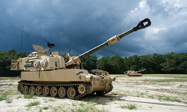 American Mobile Paladin Howitzer's  Powerful 155-MM Cannon is Now Upgraded for Extended-Range Shots for the Future Battlefield