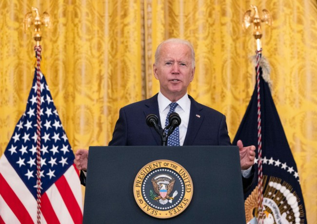 President Biden Delivers Remarks In Honor Of Labor Unions