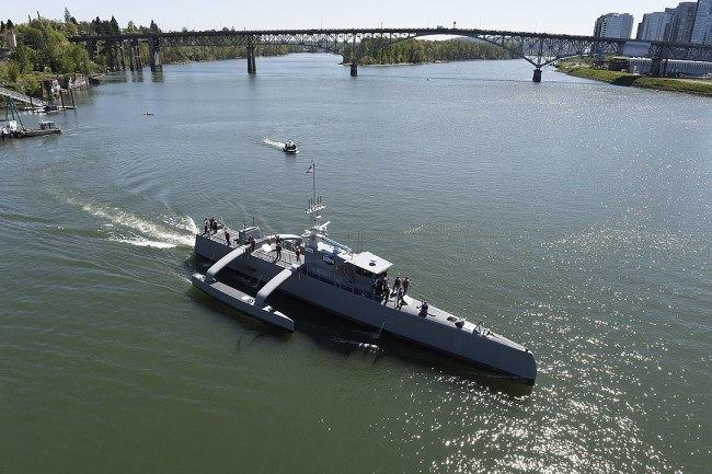 Robotic Unmanned Ghost Ship 'Ranger' Fires Missiles Autonomously, Is This the Next Generation Vessel for Maritime Combat?