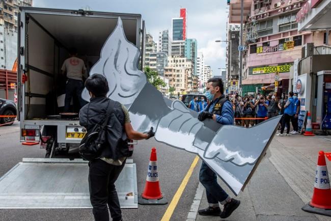 HONG KONG-CHINA-POLITICS-TIANANMEN