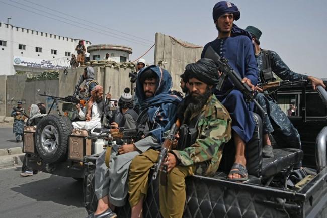 Taliban Terrorist Seen Celebrating in Leaked Video After Hoisting Severed Head of Afghan Soldier