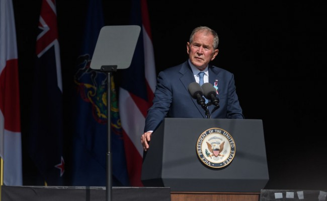 George W. Bush on 9/11 2021 Says Americans are Exceptional When Needed, Calls on to Remember United Airlines Flight 93