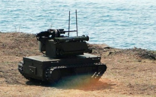 Putin Reveals Platform-M Robotic Combat Tanks Used in War Games for the First Time as it Competes with the West