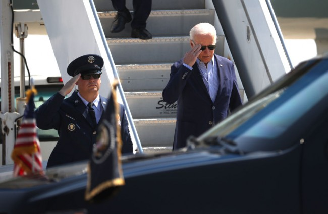 President Biden Delivers Remarks In Sacramento While In Region To View Areas Devastated By Wildfires
