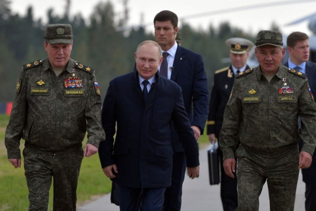 Putin Touts New Robotic Tank and More Weapons in the Zapad-2021 Wargames, NATO Countries Concerned