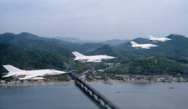 China's warplanes