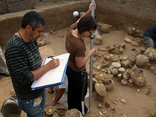 Unknown Roman Temple Found in Lebanon Dated at 5,000 Years it has Geometric Reliefs Pointing to Deity Dedicated To