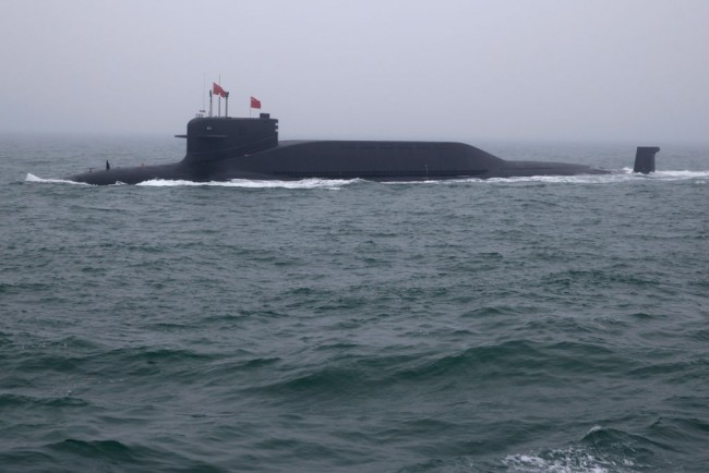 Silent Chinese Nuclear Powered Submarines Can Fire its 12 ICBMS If the US Engages the PLA in All Out War