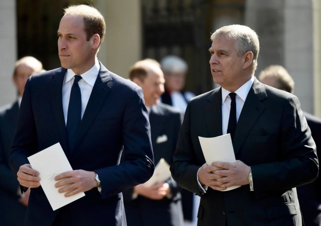 Future King Prince William Sees Prince Andrew as a Threat To the Royal Family, Will Not Let Uncle Return To Public Life, Sources Claim