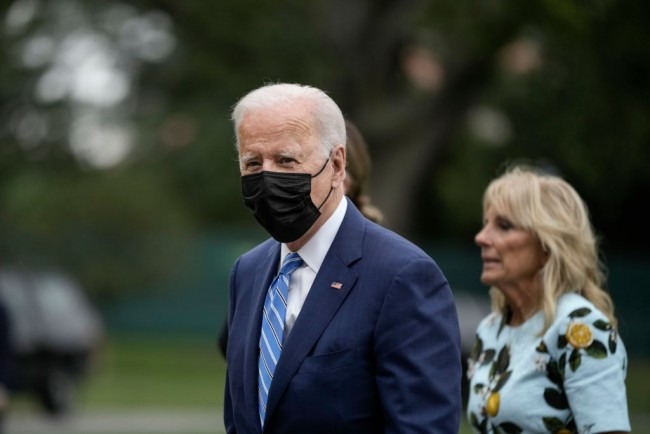 President Biden Returns To The White House After Weekend In Delaware