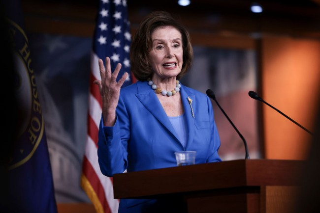 Nancy Pelosi Scolds Reporters, Saying They Should Do a Better Job in Selling Reconciliation Package