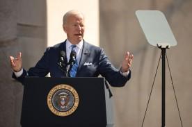 President Biden Attends Ceremony For 10th-anniversary Of MLK Jr. Memorial