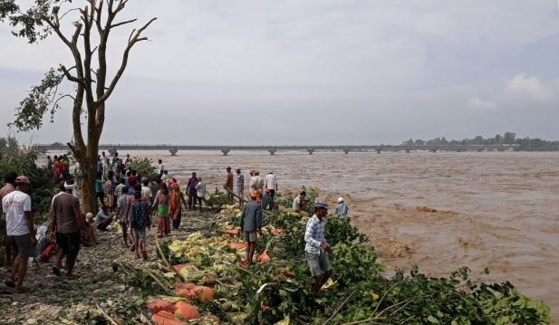 NEPAL-WEATHER-FLOOD